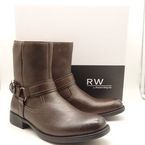 RW by Robert Wayne Mens Conroy Motorcycle Boot
